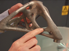 Form and Function: Metal 3D Printing of Hybrid Lattice